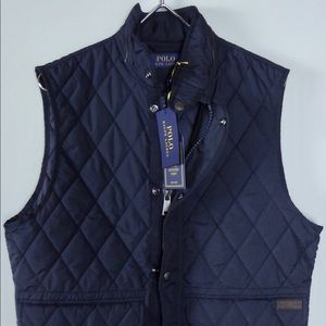 Polo Ralph Lauren Full Zip Quilted Hunting Vest